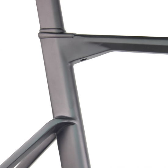 new integrated road bike frame